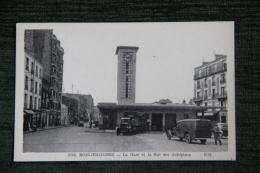 BOIS COLOMBES - La Gare Et La Rue Des Aubépines. - France