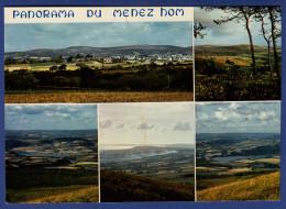 29 PLOMODIERN Panorama Du Menez-hom Vers L´Aulne Et La Baie De Douarnenez 5 Vues - Plomodiern