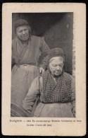 """ZELDZAME ! """" AVELGHEM - AVELGEM -- 1905 DE HONDERJARIGE WEDUWE VERMEULEN EN HARE DOCHTER URSULA (80 Jaar) ! - Avelgem"""