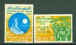 Irak 1959  Yv 284/285**,  MNH - Iraq