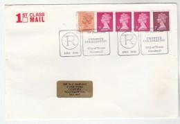 1985 GB Stamps  COVER EVENT Pmk TRURO CHARTER CELEBRATION - 1952-.... (Elizabeth II)