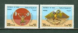 Irak 1977  Yv 823/824**, Mi 823/824**, Sc 817/818** MNH - Iraq
