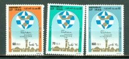 Irak 1983  Yv 1095/1097**, Mi 1198/1200**, Sc 1118/1120** MNH - Iraq