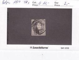 Belgien 1851 - Nr. 3 Bx - König Leopold Der I. - Gebraucht Gestempelt - Belgique