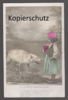 ALTE POSTKARTE LE PETIT CHAPERON ROUGE Rotkäppchen Märchen Little Red Riding Hood AK Ansichtskarte Postcard Cpa - Fiabe, Racconti Popolari & Leggende