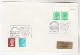1985 GB Stamps  COVER EVENT Pmk STOURBRIDGE POST OFFICE CENTENARY  Sheep Pear Fruit - 1952-.... (Elizabeth II)