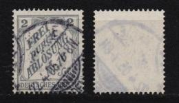 Deutsches Reich Dienstmarken MiNr.  9 O / Gestempelt - Dienstpost