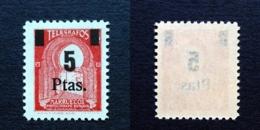 MARRUECOS.AÑO 1945.TELEGRAFOS.** 51. - Marruecos Español
