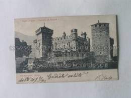 Aosta 11 Castello Di Fenis 1528 - Italy