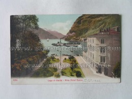 Tn 1188 Lago Di Garda Riva Hotel Sone 534 - Italia