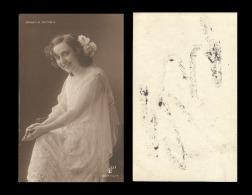 B)1910 CUBA,  ACTRESS, LADY, SINGER, CONSUELO MAYENDÍA, VINTAGE, UNUSED, POSTCARD - Postcards