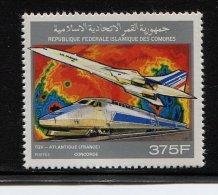 Comoren, 1992, Concorde,  TGV - Comores (1975-...)