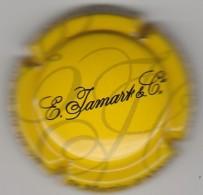CAPSULE DE CHAMPAGNE JAMART E & C°  N° 27 A FONT JAUNE COTE 1.50 EURO - Sammlungen