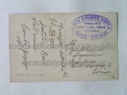 Stamp 10 Frankoboli Briefmarke - Italia