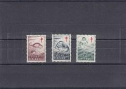 Finlande - Année 1961 - Mammifères - Y.T. 512 à 514 - Neufs** - Finlandia