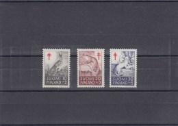 Finlande - Année 1962 - Mammifères - Y.T. 527 à 529 - Neufs** - Nuovi