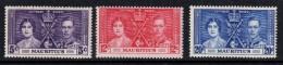 MAURITIUS 1937 Coronation Omnibus Set - Mint Never Hinged - MNH ** - 5B777 - Mauritius (...-1967)