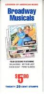 U.S. B K 209  **  BROADWAY  MUSICALS - Booklets