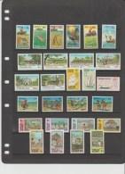 TOKELAU - KLEINE SAMMLUNG 11 KOMPLETTE AUSGABEN / SMALL COLLECTION 11 COMPLETE ISSUES; **/MUH; KW/CV 75 EURO - Tokelau
