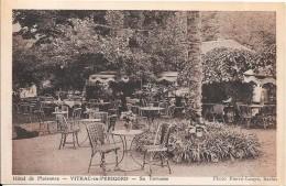 VITRAC EN PERIGORD - 24 - Hotel De Plaisance - Sa Terrasse - VANH - - Andere Gemeenten