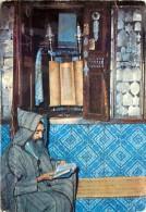 JUDAICA TUNISIE DJERBA LA GHRIBA TABLES DE LA LOI INTERIEUR DE SYNAGOGUE  UN PLI - Judaisme