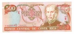 Costa Rica 500 Colones 1994, UNC, Free Ship. To USA. - Costa Rica