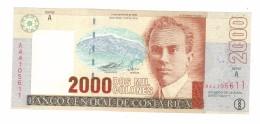 Costa Rica 2000 Colones 2005, UNC, Free Ship. To USA. - Costa Rica