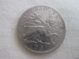 Ethiopie 25 Matonya 1923 EE = 1931 - Ethiopie
