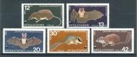 Mwz986s WWF VLEERMUIS EEKHOORN BAT SQUIRREL FLUGHUND CHAUVE SOURIS RODENT BULGARIA 1983 PF/MNH - W.W.F.