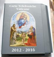 VATICANO 2016 - THE ORIGINAL BOX CONTEINER OF THE FOLDERS 2012-2016 - Vatican