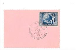 19-10-1942  Europaischer Postkongress  WIEN  - - FDC