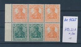 D.-Reich Marken Heft Blatt  22 A  */**   (be7525 ) Siehe Scan - Duitsland