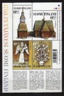 Finland 2005 Petäjävesi Old Church.S/S.MNH - Unused Stamps