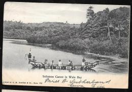 Fidji - Fiji   - Solomon Canoe In Walu Bay   Oda144 - Fidji