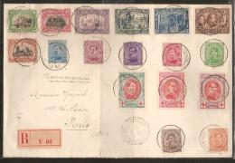 Nrs. 132 T/e/m 134 + Nr. 147 AANGETEKEND Verstuurd  Met Stempel St - ADRESSE POSTE BELGE - BELGISCHE POST Dd. 16/11/1915 - 1915-1920 Albert I