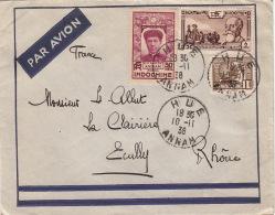 Lettre CaD HUE Pour La France 1938