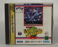 Sega Saturn Japanese : Hideo Nomo World Series Baseball GS-9061 - Sega