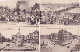 16 / 5 / 180  -  LOT  DE  19  CPA  DE  BORDEAUX ( 33 )   -Toutes ScanéesT - Cartoline