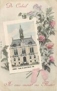 CORBEIL - Je Vous Envoie Des Fleurs,façade Du Nouvel Hôtel De Ville. - Corbeil Essonnes
