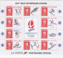BF14 - FRANCE Blocs N°14 Neuf** Jeux Olympiques Albertville 1992 - Ungebraucht