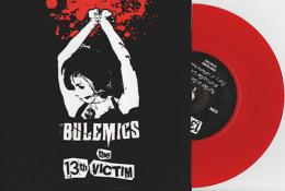 The 13TH VICTIM - The BULEMICS - Split EP - SCAREY RECORDS - MORNING STAR FACTORY - PUNK - VINYL ROUGE - Punk