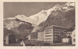 Saas-Fee - Hotel Pension Du Glacier S/w - VS Wallis