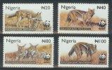 Ncw335s WWF FAUNA ZOOGDIEREN JAKHALS HOND DOG JACKAL MAMMALS NIGERIA 2003 PF/MNH # - W.W.F.
