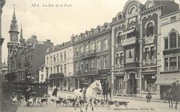 SPA - La Rue De La Poste, équipage De Chasse à Courre. - Spa