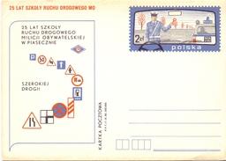 POLAND  ROAD SAFETY  POST CARD    ( MA160039) - Incidenti E Sicurezza Stradale