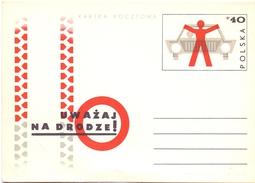 POLAND  ROAD SAFETY  POST CARD    ( MA160040) - Incidenti E Sicurezza Stradale