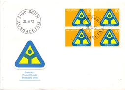 BERN HELVETIA   ROAD SAFETY COVER 1972    ( MA160041) - Incidenti E Sicurezza Stradale