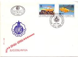 JUGOSLAVIJA BEOGRAD  ROAD SAFETY 1986   ( MA160042) - Incidenti E Sicurezza Stradale