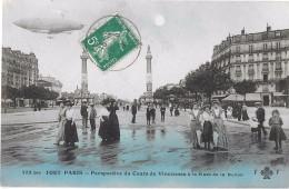TOUT PARIS - 433 Bis Perspective Du Cours De Vincennes à La Place De La Nation (colorisée) - Distretto: 12