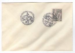 JUGOSLAVIJA YUGOSLAVIA COVER  SPECIAL POSTMARK OTVARANJE PTT MUZEJA 1958 BEOGRAD POST MUSEUM - Covers & Documents